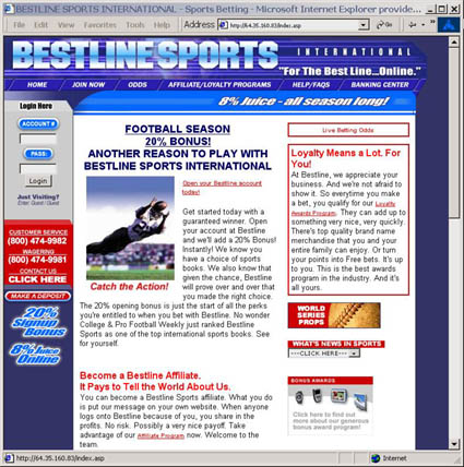 Auto Racing Wagering on Online Sportsbooks    Bestline Sports Review    Thecasinocatalog Com
